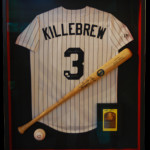 Killebrew Jersey with Bat and Ball