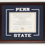 Penn State Diploma Cut out